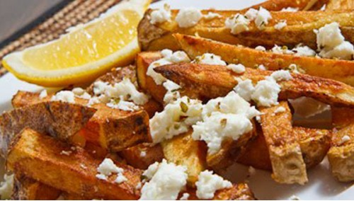 011. Greek Fries Feta
