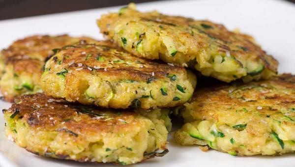 012. Zucchini Patties
