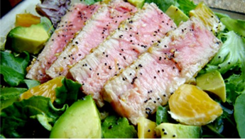 034. Grilled Tuna Salad