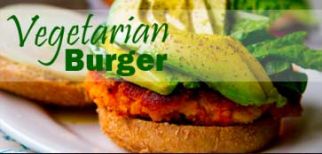 vegeterian burger