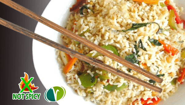 THAI 16. FRIED RICE WITH VEGETABLES