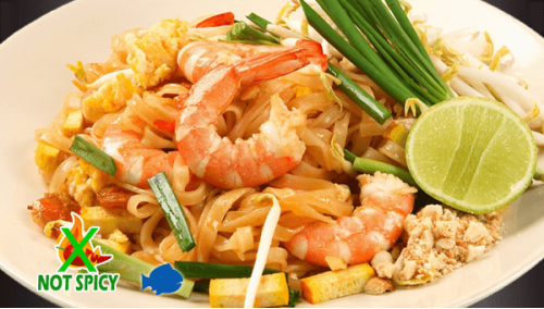 THAI 18. PAD THAI  SHRIMPS