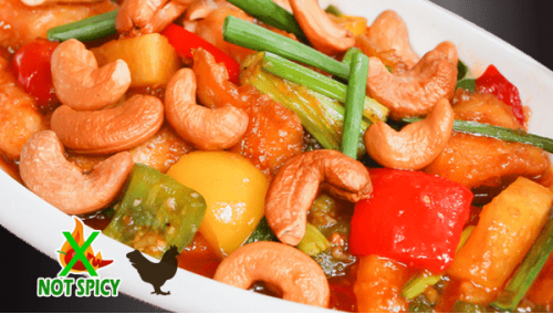 THAI 19. CHICKEN CASHEW NUTS