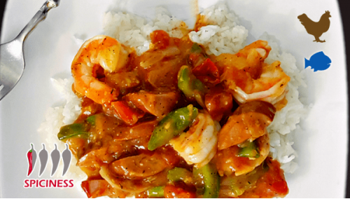 THAI 22. STIR FRIED SPICY CURRY