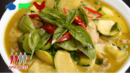 THAI 09. GREEN CURRY