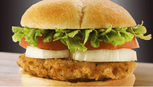 205.  Chicken Burger