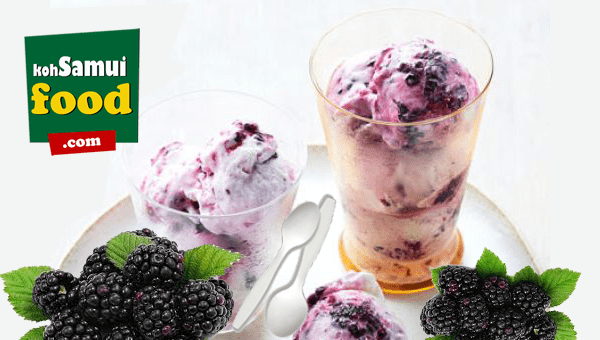 805. Frozen Yogurt Blackberry