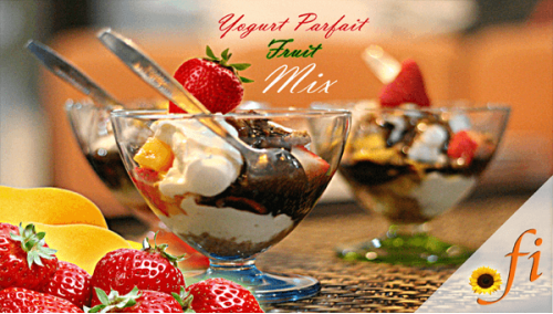 800. Fruit Greek Yogurt Parfait