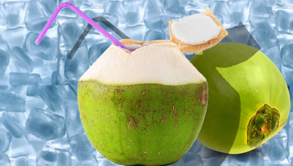 510. Young coconut