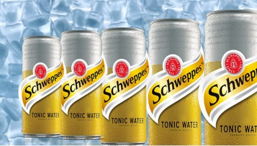 506. Schweppes Tonic Water