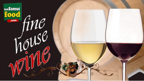 518. House  Wine