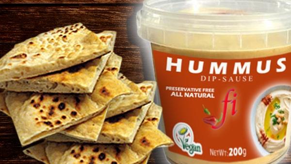 002. Hummus & Pita Bread