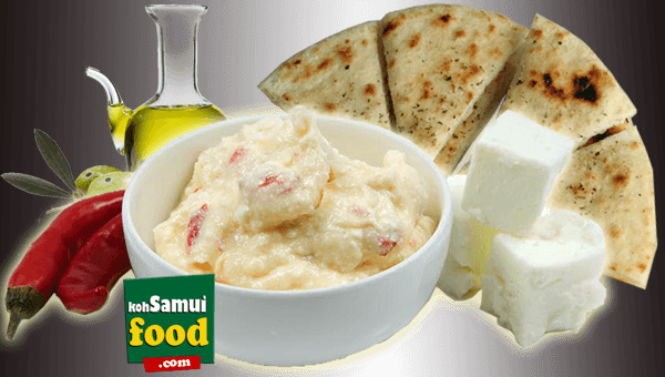 003. Creamy Spicy Cheese Pita Bread