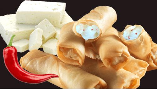 006. Santorini Cheese Rolls