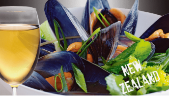 018. Steamed Green Mussels