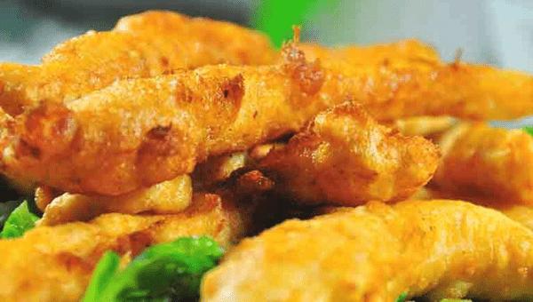 021. Chicken in Tempura