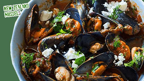 028. Mussels  Saganaki