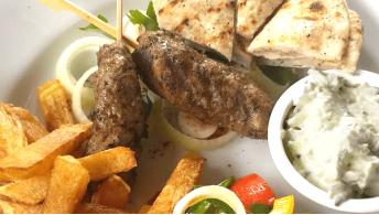 061. Lamb Kebab [Plate]
