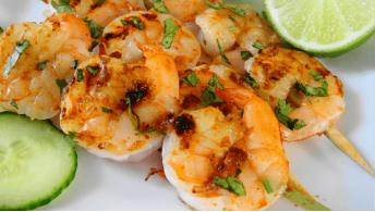 083. Shrimps Kebab