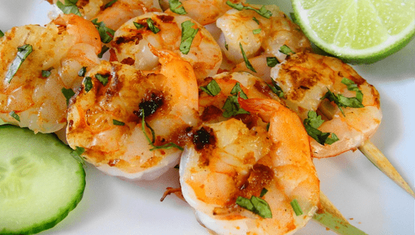 083. Shrimps Kebab