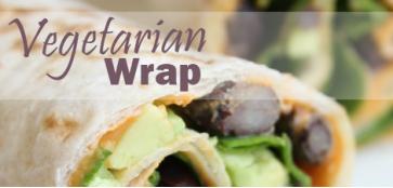 vegeterian wrap