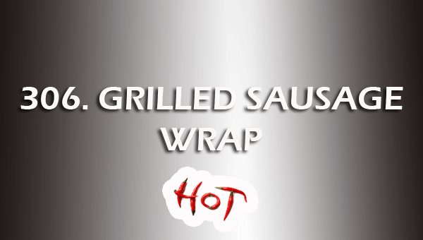 306. GRILLED PEPPERY SAUSAGE